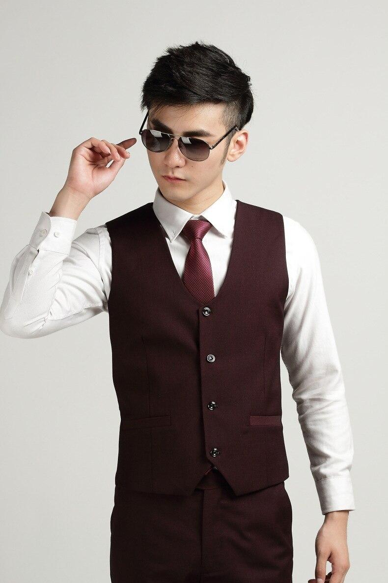 2017 people professional fashion business and leisure font b suit b font purple vest