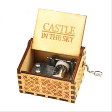 купить Wooden Hand Crank Harri Potter Music Box Game of Thrones Star Wars Theme Wooden Music Box Birthday Gift for Friend недорого