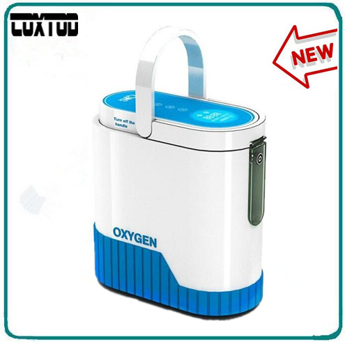 New Model portable oxygen concentrator/oxygen generator/home use oxygen concentrator for COPD/travel/car use medical oxygen concentrator for respiratory diseases 110v 220v oxygen generator copd oxygen supplying machine