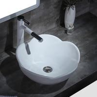 Nordic above counter basin modern minimalist creative art basin oval hotel wash basin basin pool lw116407