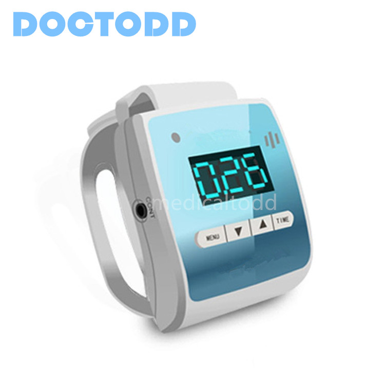 Snoring Stopper Wrist Watch for Anti-snoring Use Healthy Chinese Medicine Impulse Therapy Portable Easy Operation