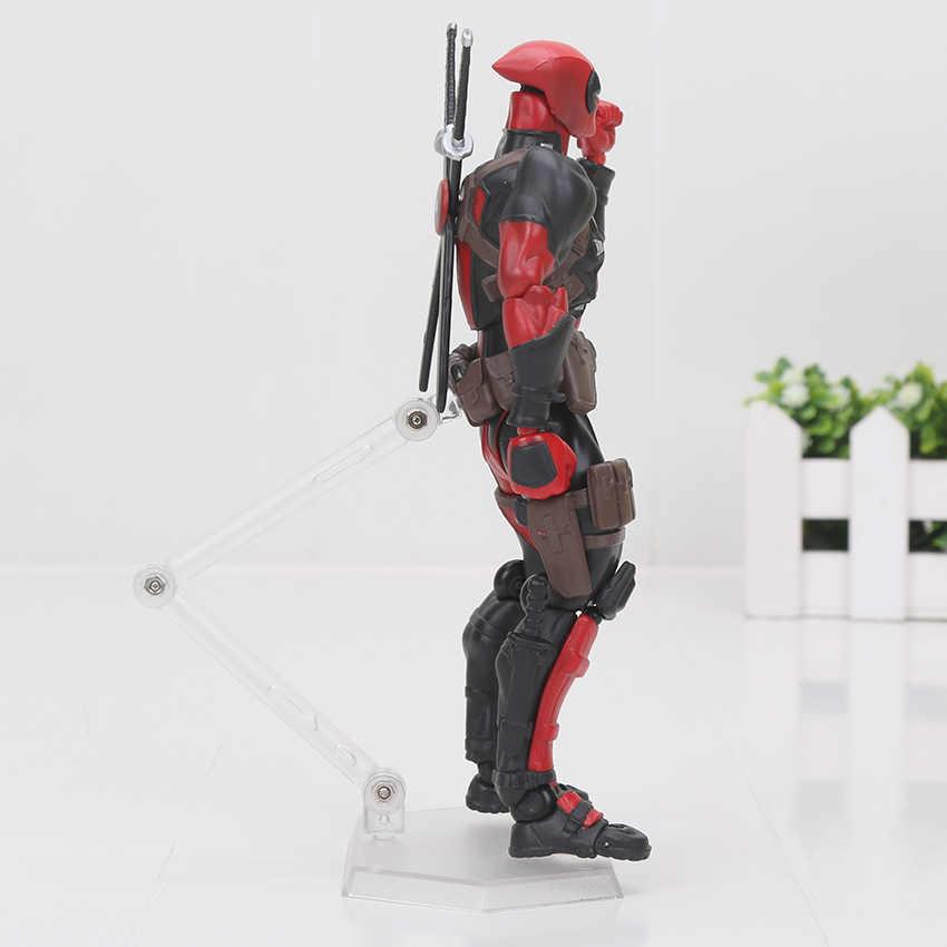 16 centímetros Dos Desenhos Animados Super hero Deadpool PVC Action Figure Boneca Coleção Toy Modelo de Série N ° 001