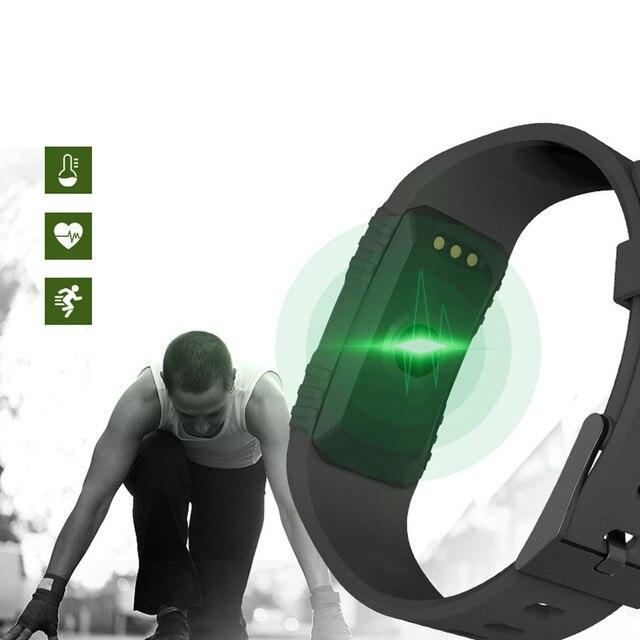 New 1pc Women H1 Heart Rate Blood Pressure Monitor Slot Wrist Waterproof Bluetooth Smart Watch ja25