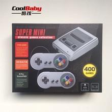 EU Jogo Retro Clássico Handheld Game Console Jogador Portátil Mini Família TV Consoles De Vídeo Embutido 400 Jogos Gamepad Dual
