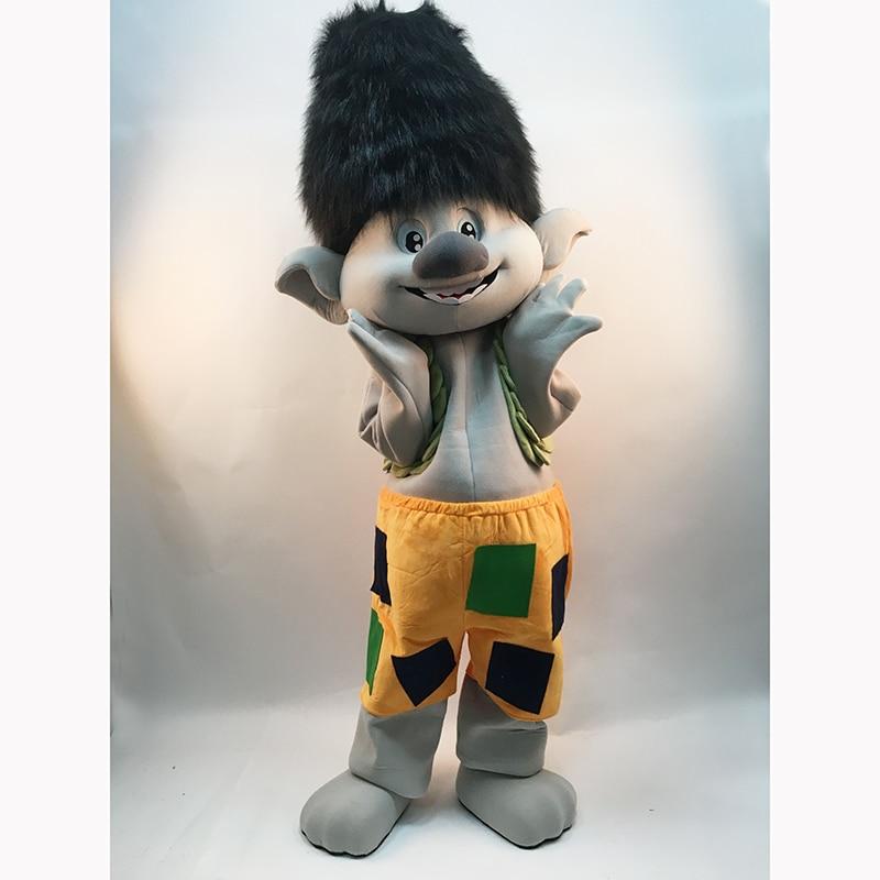 2019 Yeni Troll Mascot Costume Trolls Character Mascot Parade Quality - Karnaval kostyumlar - Fotoqrafiya 5
