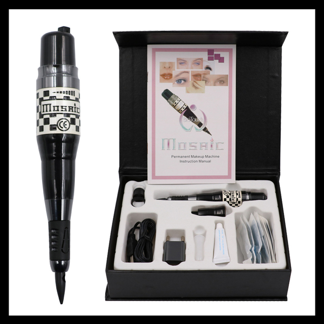 Small Tattoo Equipment: 1 Set Small Permanent Makeup USA Biotouch Mosaic Tattoo