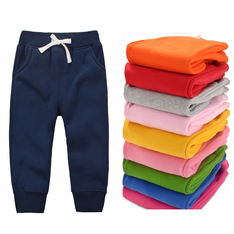 Cemigo New Baby Warm Pants Baby Boys Fleece Trousers Baby Girls Winter Pants Children Casual Trousers HB506
