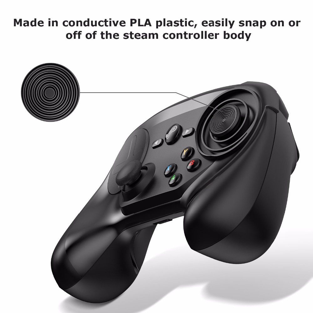 US $5 99 |Thumb Stick for the Steam Controller, Touch Pad Stick Analog  Stick With Precise Movement Control for the Steam Controller-in Replacement