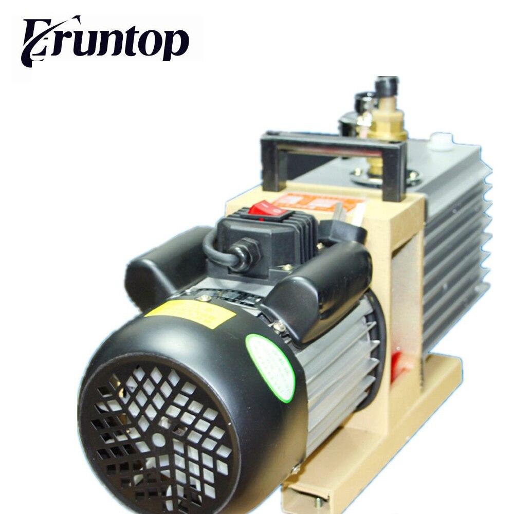 Eruntop роторный вакуумный насос 8CFM 220 В/50 Гц 2XZ-4 литр дважды этап всасывания специализируется на Ко ТБК ОСА ламинатор
