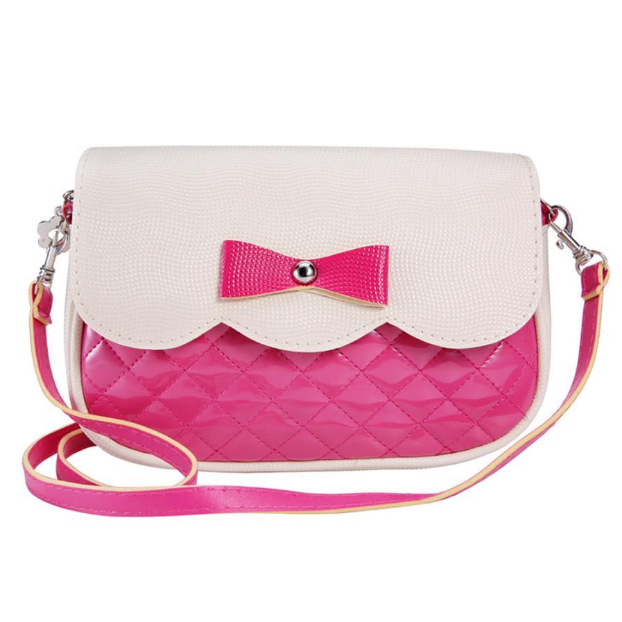 2018 Handbags for teenage Girls womens Bowknot Fashion crossbody bag female messenger pochette lady shoulder bags gift #xxf