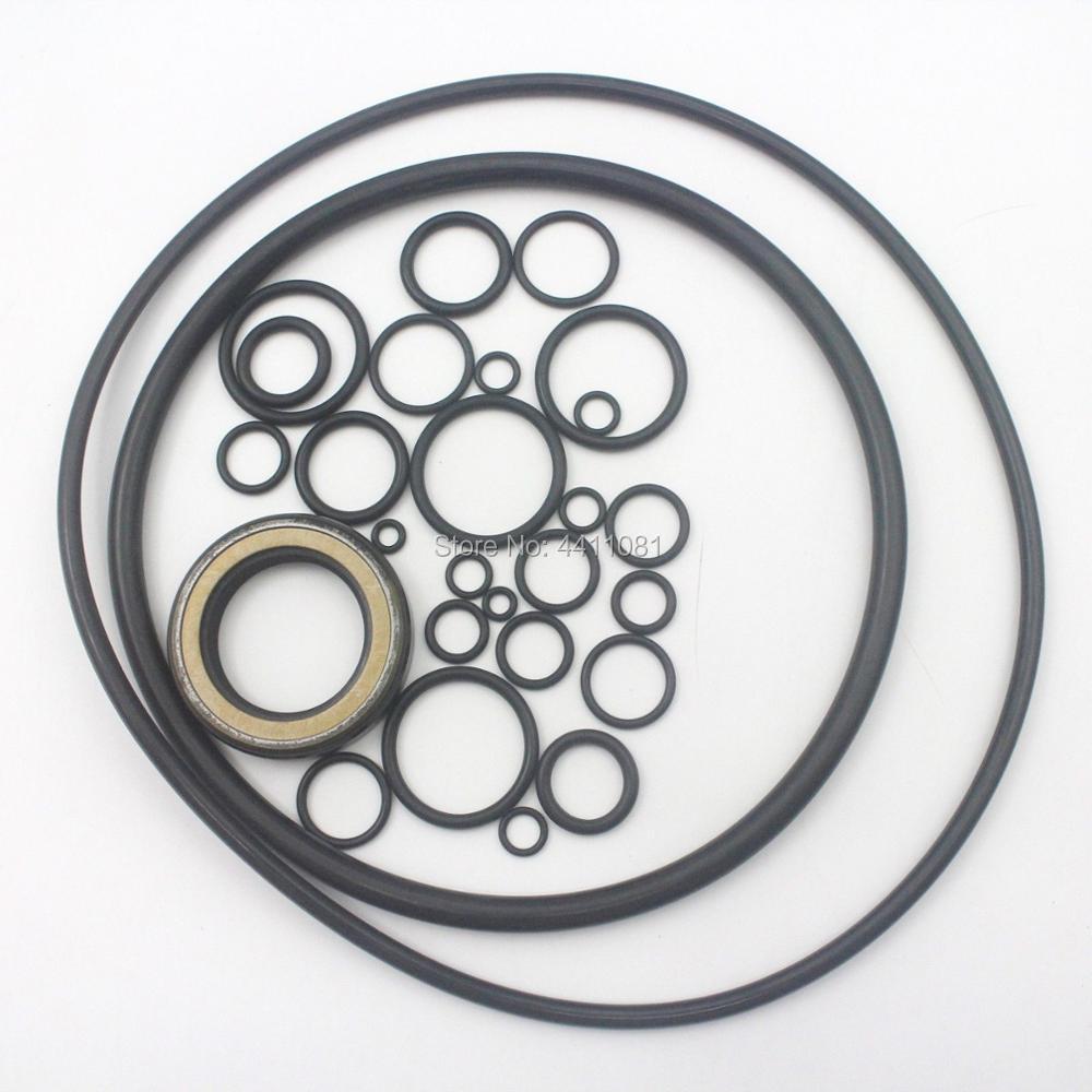 For Hitachi EX200-2 Travel Motor Seal Repair Service Kit Excavator Oil Seals, 3 month warranty zx210w ex200 4361638 excavator fuel tank cap for hitachi