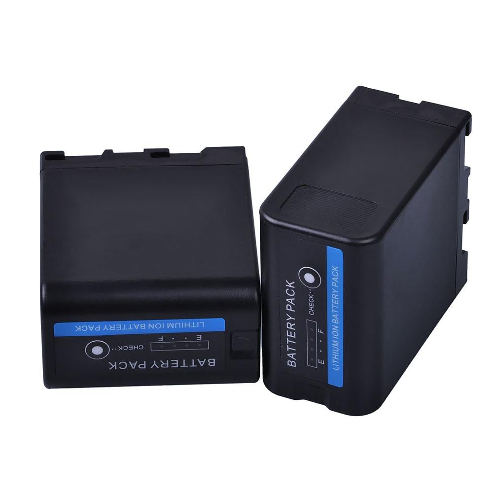 PowerTrust New 2Pcs 5200mah BP-U60 BP U60 BPU60 Battery For Sony PMW-100 PMW-150 PMW-160 PMW-200 PMW-300 PMW-EX1 EX1R EX3 EX260 PowerTrust New 2Pcs 5200mah BP-U60 BP U60 BPU60 Battery For Sony PMW-100 PMW-150 PMW-160 PMW-200 PMW-300 PMW-EX1 EX1R EX3 EX260