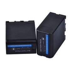 PowerTrust новая одежда для маленькой девочки 2 шт 5200 мА/ч, BP-U60 BP U60 BPU60 Батарея для sony PMW-100 PMW-150 PMW-160 PMW-200 PMW-300 PMW-EX1 EX1R EX3 EX260