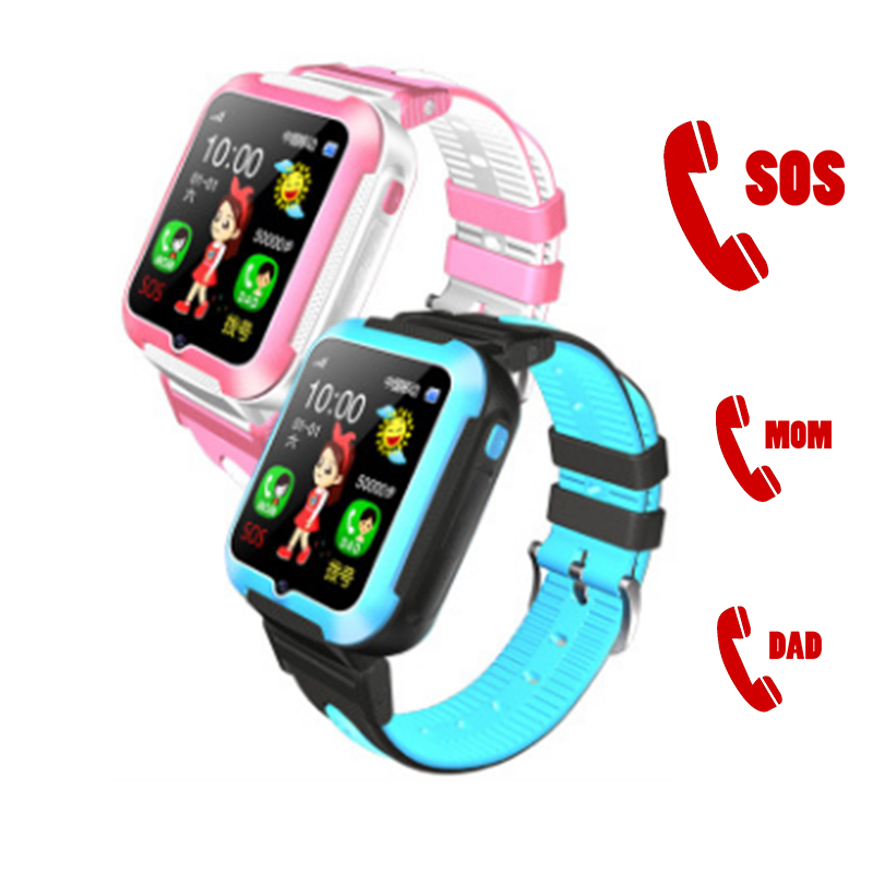 E7+ Kids Smartwatch Waterproof Baby Tracking SOS Call Location Finder with SMS Camera MP ...