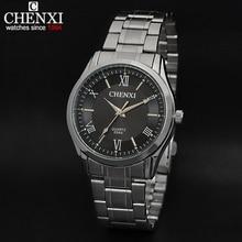 New Design Formal CHENXI Branded Watches,Men full steel watch Quartz Analog boy Men's Watches Fashions Clock Men 054