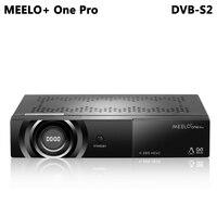 MEELO + ONE PRO 1080 P Full HD DVB-S2 Ricevitore Satellitare H.265/HEVC/AVC Supporto Linux Satellitare Receptor YouTube Cccam IPTV WEBTV NEW CAM