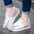 2017 Nuevas Mujeres de la moda Zapatos Casuales Transpirable zapatillas mujer armadura 90 zapatos para correr Transpirable antideslizante Ocio volar Aip Max