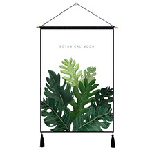Abstract Cactus Green Plant Print Hanging Painting Watercolor Posters Prints Wall Pictures For Living Room Art Home Decor