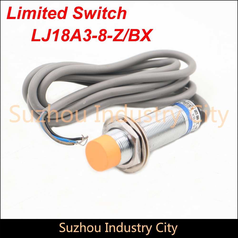 Free Shipping Proximity switch LJ18A3-8-Z/BX  Sensor Switch NO DC6-36V 300mA limit switch Rotary Adjustable Roller NO 5pcs proximity switch inductive sensor dc6 36v 3wire no pnp dc 300ma detection distance 2mm m8 lj8a3 2 z by