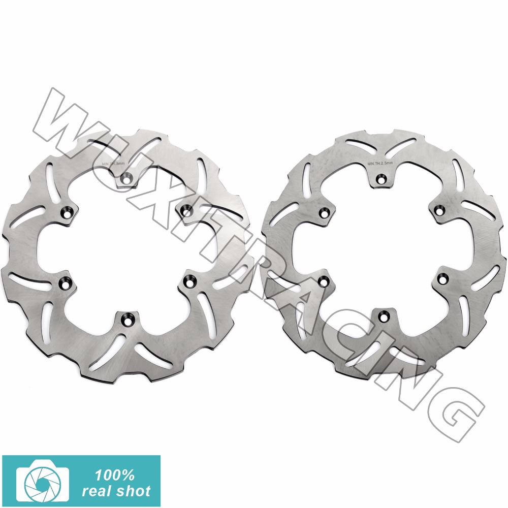 Full Set Front Rear Brake Discs Rotors for YAMAHA TZR 50 R 93-02 WR 125 250 92-00 93 94  YZ 125 250  YZ 400 426 F 1998-2000 1999