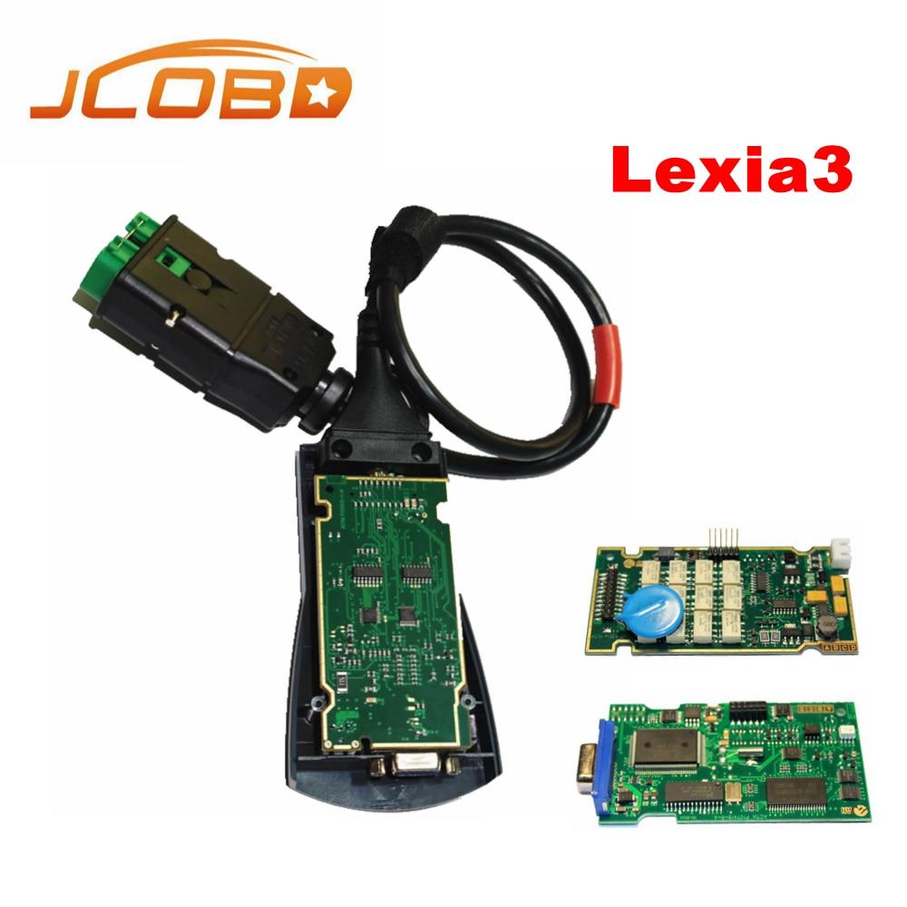 2017 Diagbox V7.83 Lexia с 921815C прошивки Lexia3 PP2000 V48/V25 Lexia 3 lexia-3 для Citroen Peugeot диагностический- инструмент