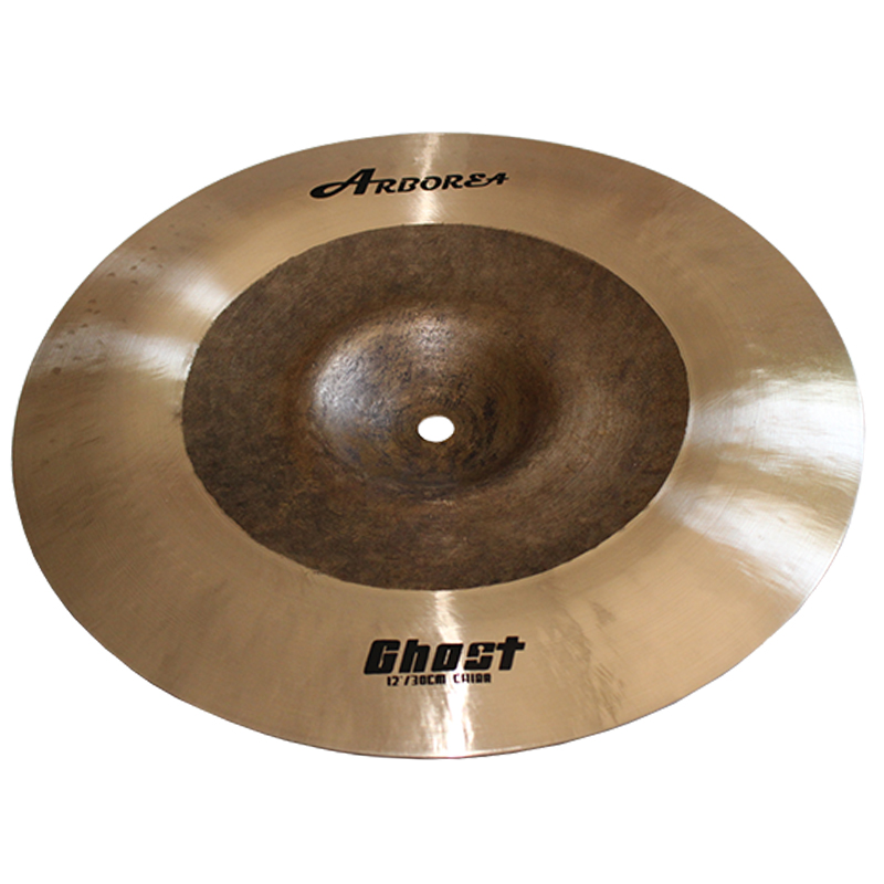 Arborea Ghost Series B20 Cymbals 12 Inch China  Made By HandArborea Ghost Series B20 Cymbals 12 Inch China  Made By Hand