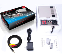 Ретро семья HDMI видео классические ручные игровые плееры Встроенный 600 игр HD выход двойной геймпад управления головоломка обучающая машина