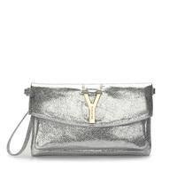 Fashion Women Envelope Clutch Bag Solid Color Leather Purse Party Delicate Handbag Ladies Wedding Bags Designer Clutch