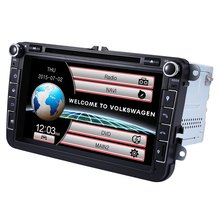 8 inch WCE 2 Din Touchscreen Car DVD Player GPS Navigation WiFi 3G Dongle 2Din Radio Audio Stereo Video Player for VW/Skoda