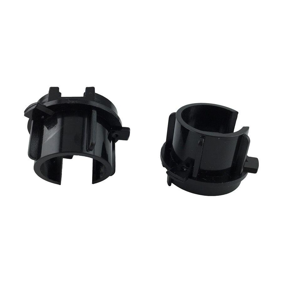 2pcs Car Hid Bulb Holder Socket Adapter Accessories For Kia K3 Xenon Bulb Base H7 Hid Bulb Hid Xenon Replacement Bulb Holder