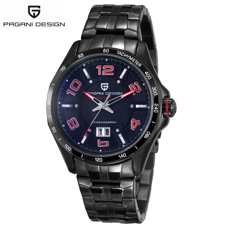 top 2017 new relogio masculino Pagani Design Stainless Steel Brand Watches Men Watch Casual Men Waterproof Watch erkek kol saati weide popular brand new fashion digital led watch men waterproof sport watches man white dial stainless steel relogio masculino