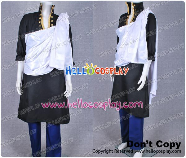 Fairy Tail Zeref Cosplay Costume H008