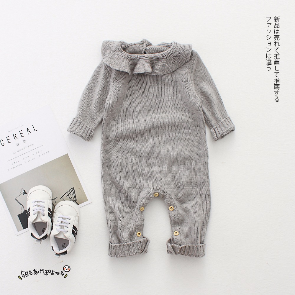 29845dfb0b8c outlet online a2ffc b631d bobo choses baby knitting romper cute warm ...