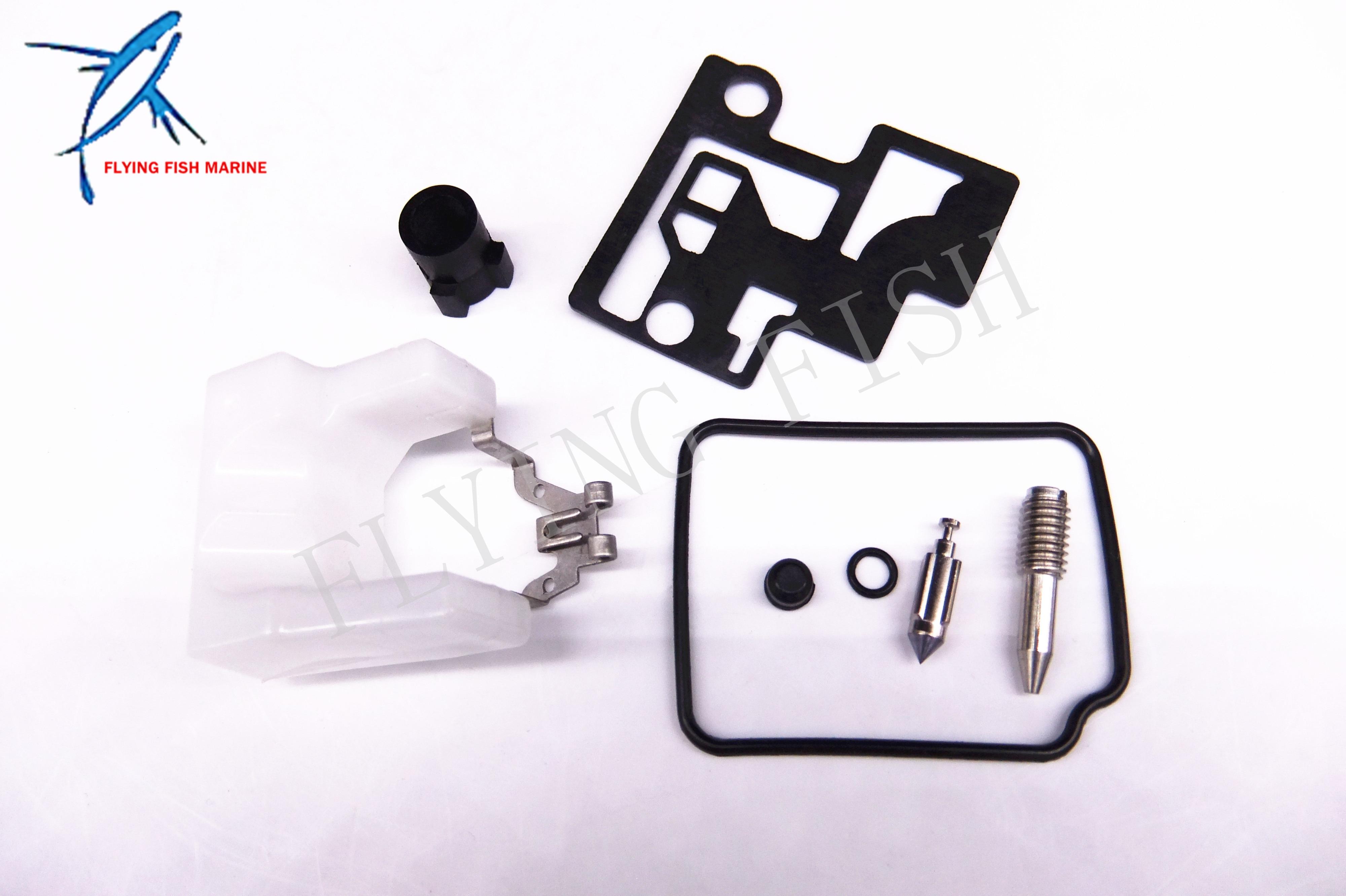 Carb Carburetor Repair Kit for Parsun HDX Makara 4-stroke 2.6hp F2.6 Boat Motor