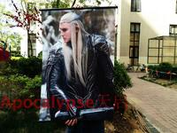 Hobbit 3 HD Game Movie Scrolls Poster Bar Cafes Home Decoration Banners Hanging Art Waterproof Cloth Decorative 60X90 CM