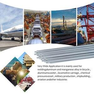 Image 5 - 10/20/30/50 pcs 1.6mm/2mm * 50 cm Lage Temperatuur Aluminium Lassen draad In Plaats Van WE53 Koper En Aluminium Staaf Geen Aluminium Poeder