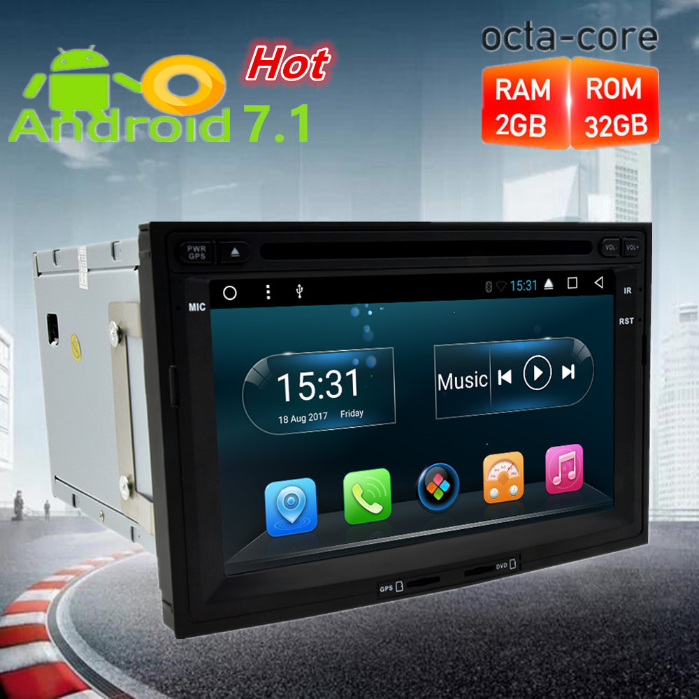 Octa Core Android7.1 Autoradio DVD GPS Navigation Multimedia Player Per Citroen Berlingo/Peugeot 3008/5008 Partner Auto Stereo