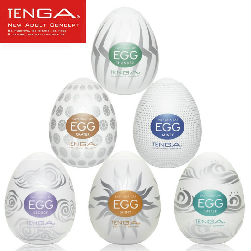 Original TENGA Egg Male Masturbator For Man Sex Pocket Realistic Vagina Japan Silicone Egg With Lubricant Sex Toys For Men
