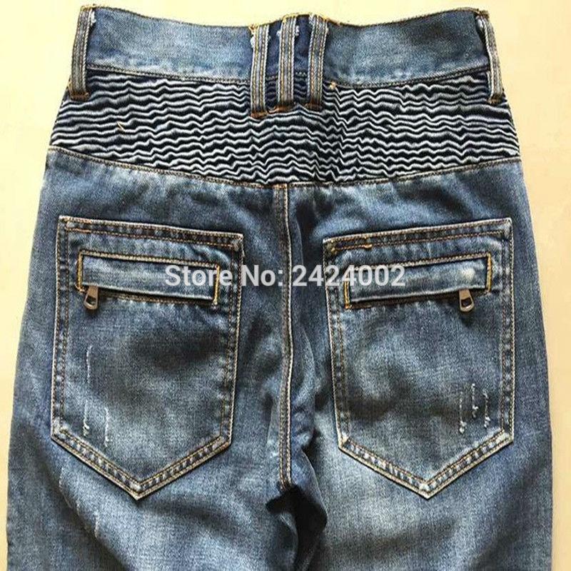 Ανδρικά Balmai τζιν παντελόνι άνδρες - Ανδρικός ρουχισμός - Φωτογραφία 5
