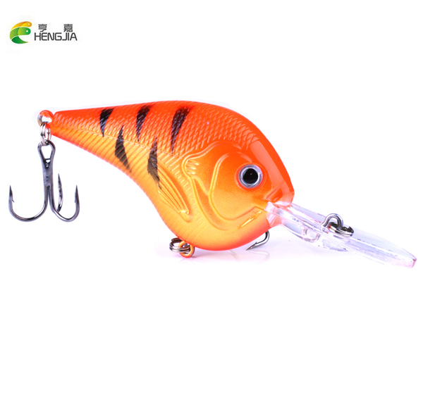 1PCS Fishing Lure Deep Swimming Crankbait 9.5cm11.4g Hard Bait 9 colors available Tight Wobble Slow Floating Fishing Tackle