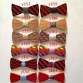De madera de colores Moda de Nueva Juego De Madera Accesorios Pajarita Corbata de Los Hombres Para Los Hombres Corbata Pajarita Para La Boda