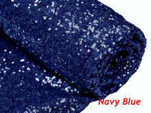 2Yard Embroidery Sequin Fabric Material Navy Blue Sparkly Fabric Used to Make Clothes Shoes Bags Wedding Partie Event Decor -527 майка женская oodji ultra цвет ментоловый 14305023 3b 46866 6500n размер m 46