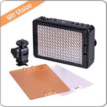 160 LED Video Light  5400K Photographic Light DV Camcorder Photo Lighting For Canon Nikon
