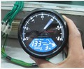 Universal LCD Digital Speedometer Odometer Motorcycle MotorBike F1,2,4 Cylinders
