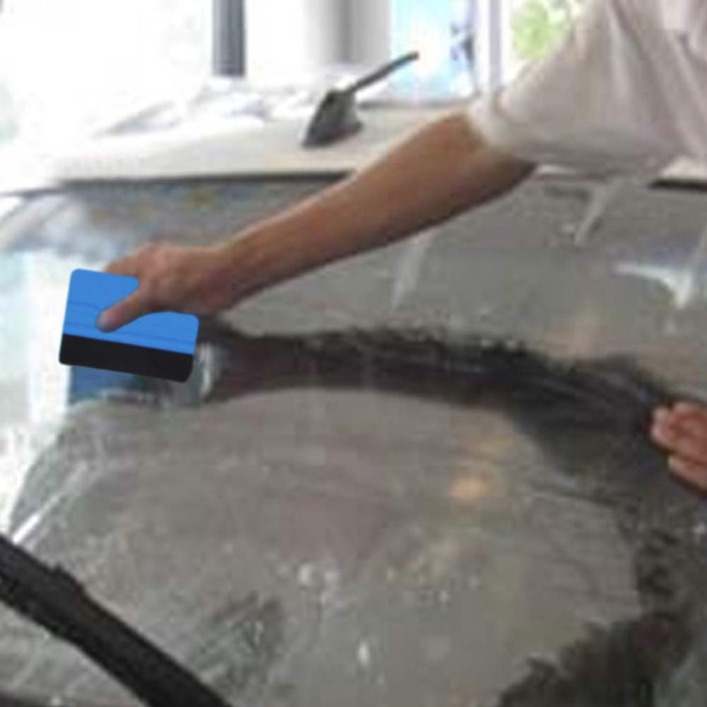 Squeegee Car Sticker Wrapping Scraper With Cloth Scraper Car wrap Tools Glass Clean felt