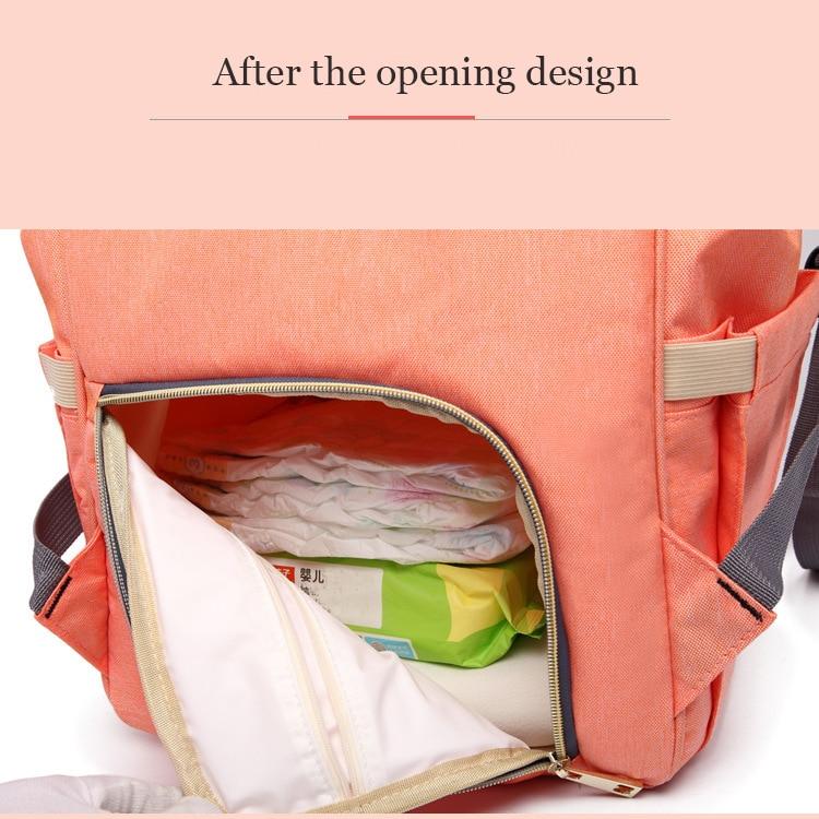 Maternity Bag Waterproof Diaper Backpack for Mom Nappy Bags Large Capacity Baby Bag Travel Mummy bag Designer Nursing Bag