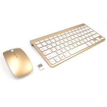 Waterproof 2 4GHz Wireless Mouse and Keyboard Set For Surface Pro Slim Mute Multimedia Keyboard and