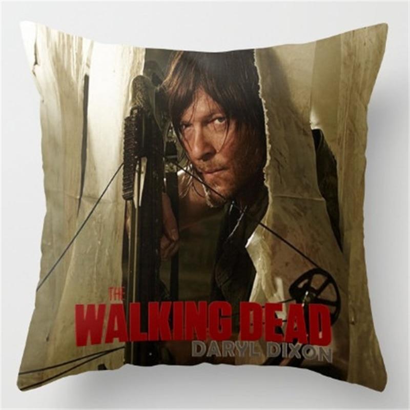 Pillowcase The Walking Dead Cushion Cover Polyester Cotton Chair Rhaliexpress: Walking Dead Home Decor At Home Improvement Advice