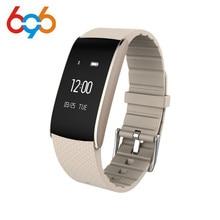 696 A86 Banda Inteligente Sports Pulseira relógio de pulso de Oxigênio No Sangue Pressão Rastreador de fitness Monitor De Freqüência Cardíaca Pulseira para Android ios