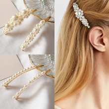 Sale 1PC Fashion Pearl Hair Clip for Women Barrette Hairpin Styling Accessories